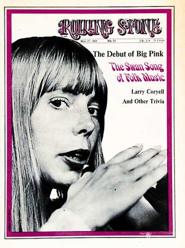 Joni on Early Rolling Stone Magazine