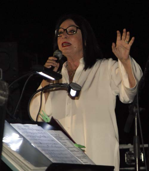 Nana Mouskouri in Hania