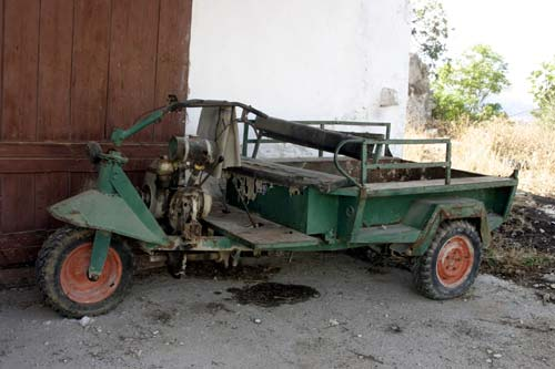 Early Crete Greece Jalopy