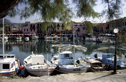 The Old Port of Rethymno Crete