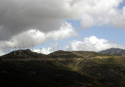 The New Crete Windmills