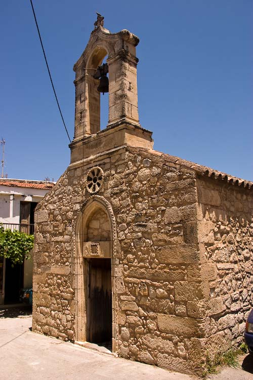 Small church in Margaritas